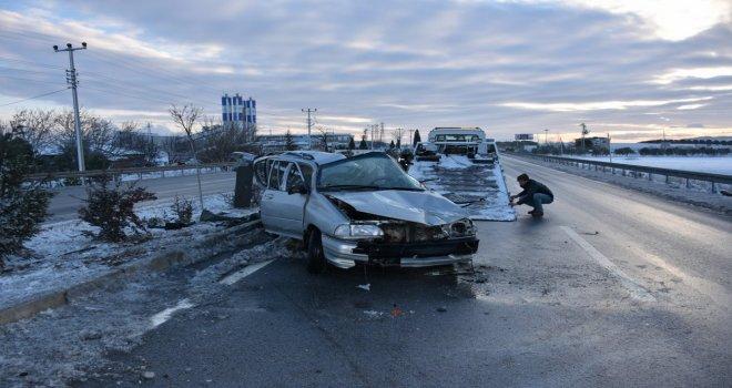 Akhisar'da Feci Trafik Kazası; 1 Ölü