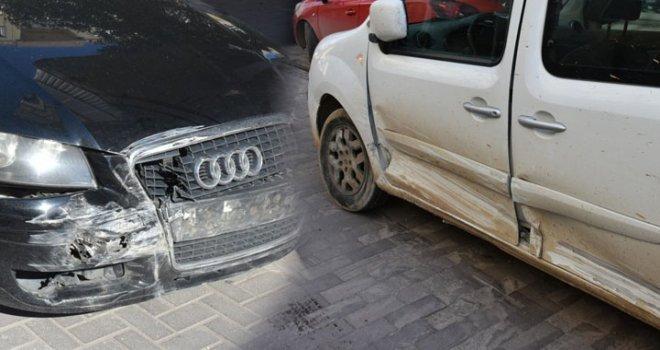 1. Nakliye Caddesinde Trafik Kazası