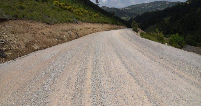 11 Kilometrelik Grup Yolunda Asfalt İçin Start Verildi