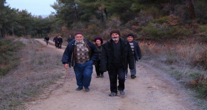 2020 yılının ilk doğa yürüyüşü yapıldı