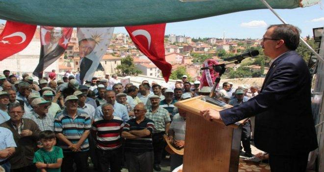 AK Parti Manisa Milletvekili Uğur Aydemir, Demirci ilçesini ziyaret etti