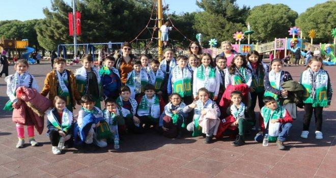 Akhisar Altıeylül İlkokulu öğrencileri şehrini keşfetti