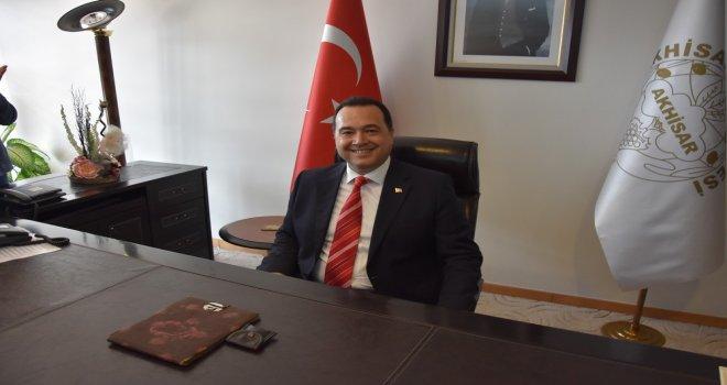 Akhisar Belediye Başkanı Besim Dutlulu, Berat Kandili'ni kutladı