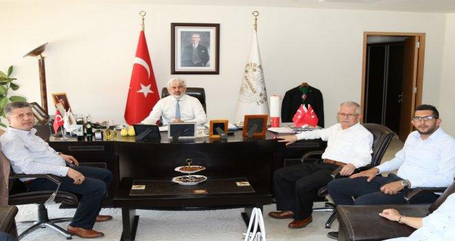 Akhisar Belediye Başkanı Salih Hızlı, Milletvekili Özkan'ı ağırladı