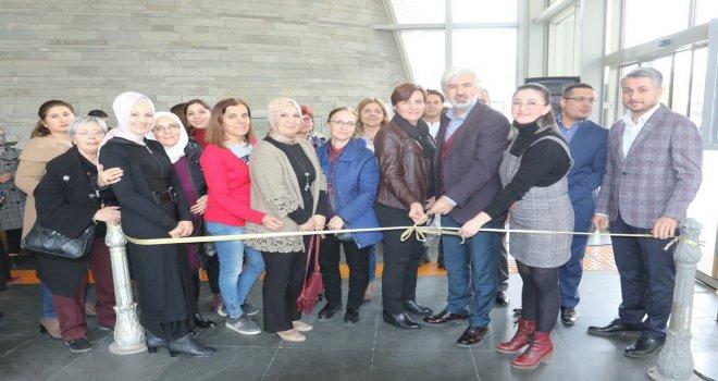 Akhisar Belediyesi Sanat Atölyesi Ekolojik Tasarım Sergisi açıldı