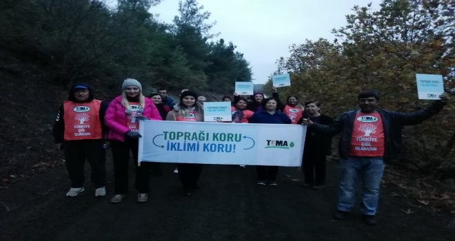 Akhisar Belediyesi, Zinde Yaşam Kulübüyle Akhisar TEMA Vakfı toprak için yürüdü