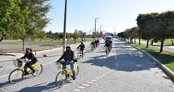 Akhisar Belediyesi'nden 10 Kasım'da Bisiklet Turu