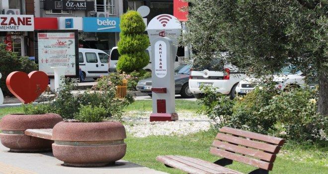 Akhisar Belediyesi'nden Bedava İnternet Hizmeti
