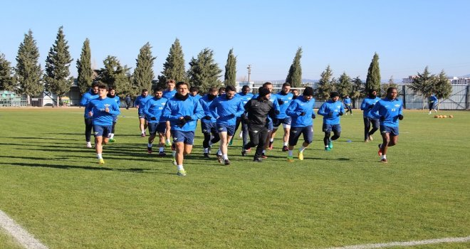 Akhisar Belediyespor'da Osmanlıspor hazırlıkları sürüyor
