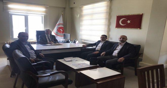 Akhisar Halk Eğitimi Merkezi Müdürü Süleyman Erdem Açık Cezaevini Ziyaret Etti