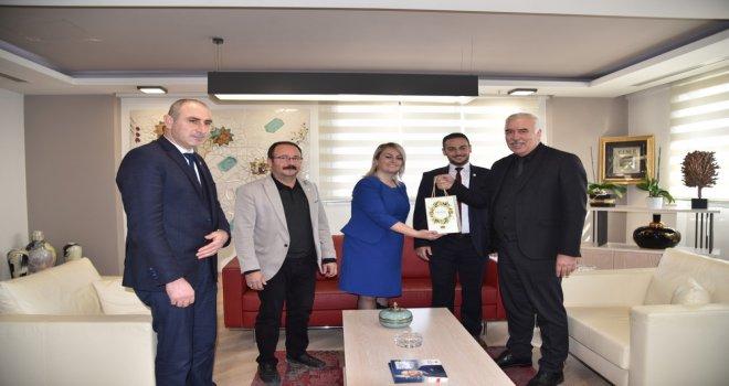 Akhisar Kent Konseyi'nden Büyükşehir'e Ziyaret