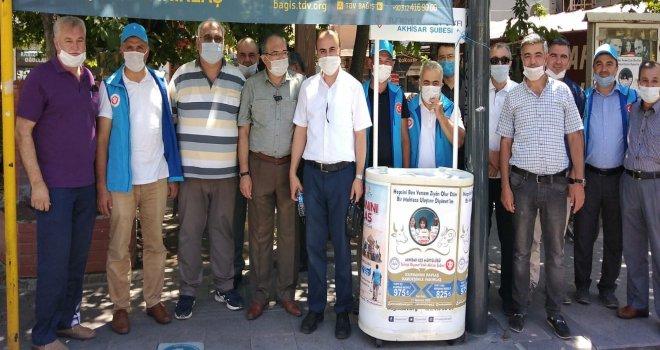 Akhisar Müftülüğü Vekâleten Kurban Tanıtım Stantlarını Açtı