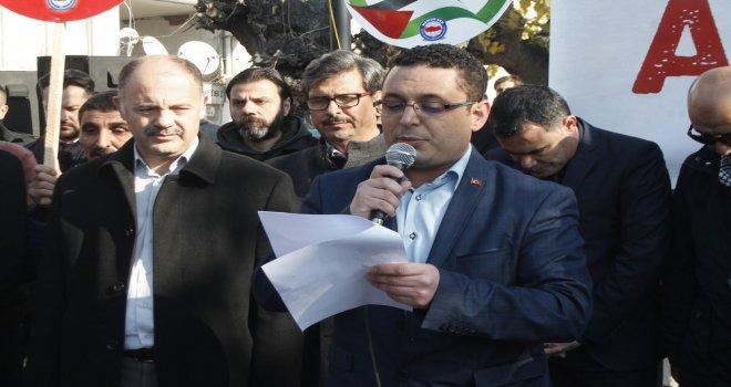 "Akhisar Sivil Dayanışma Platformu ""Kudüs Onurumuzdur"""