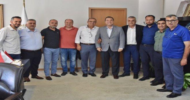 Akhisar Spor Yönetim Kurulu, Akhisar Belediye Başkanımız Besim DUTLULU Ziyaret etti.