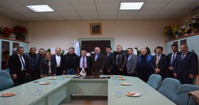 Akhisar Ticaret Borsası'ndan Esnaf Kefalet Kooperatifi ziyareti