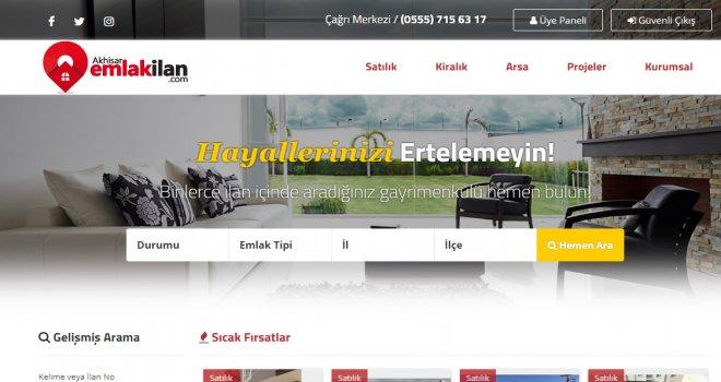Akhisar'ın En Büyük Emlak Sitesi Açıldı!
