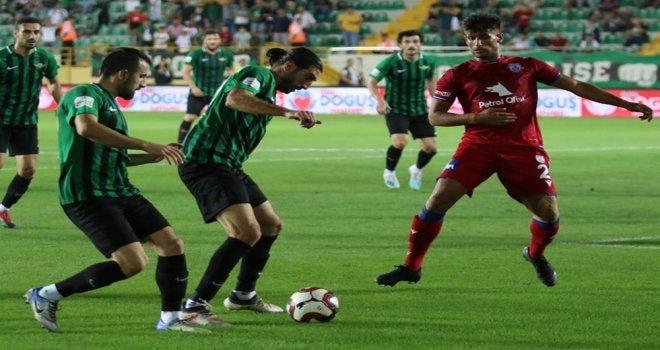 Akhisarspor; 0 - Altınordu; 0
