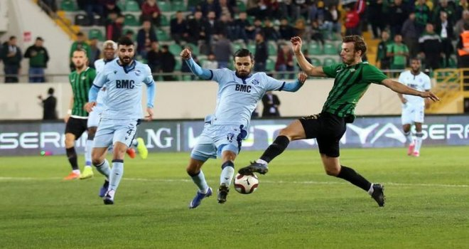 Akhisarspor: 1 - Adana Demirspor: 1