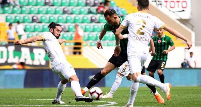 Akhisarspor; 2 - İM Kayserispor; 2
