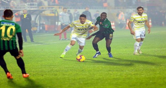Akhisarspor; 3 - Fenerbahçe; 0