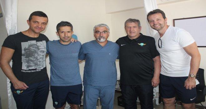 Akhisarspor Ekibi Sağlık Kontrolünden Geçti