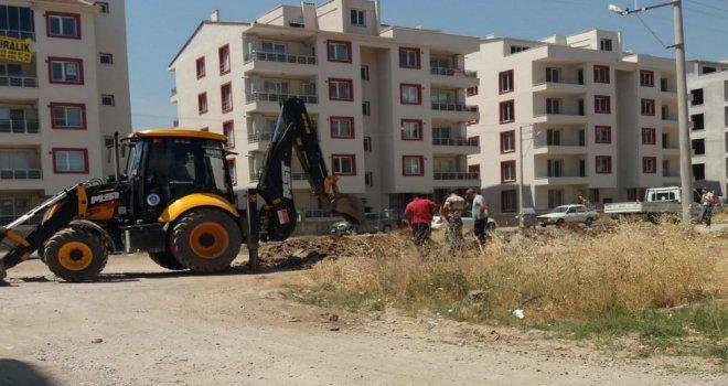 Atatürk Mahallesi'ne Yeni İçme Suyu Hattı