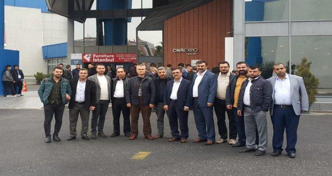 ATSO Üyeleri Furniture İstanbul Fuarında