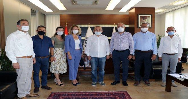 ATSO Vali Karadeniz'i ve Başkan Yılmaz'ı Ziyaret Etti