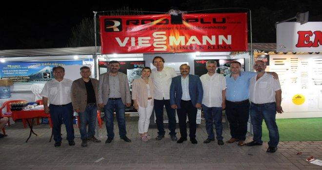 ATSO'dan Çağlak Festivali Ziyareti
