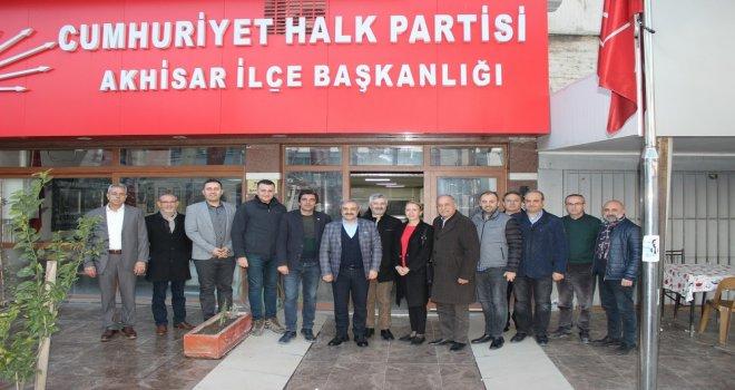 ATSO'dan CHP İlçe Yönetimine Ziyaret