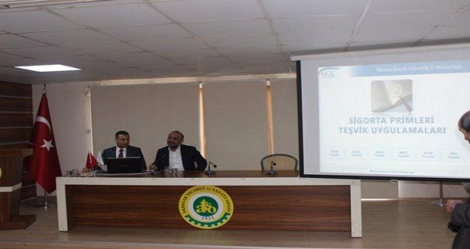 ATSO'dan sigorta primleri teşvik uygulamaları semineri