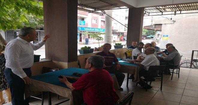 Bakırlıoğlu'ndan Ramazan Bayramı Ziyaretleri