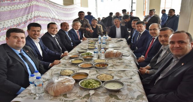 Başkan Dutlulu, ilk ziyaretini Dağdere'ye yaptı