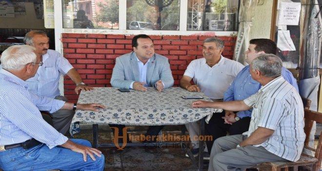 Başkan Dutlulu, Sazoba Mahallesi sakinleri ile buluştu