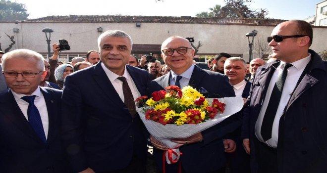 Başkan Ergün'den Cumhur İttifakı'na Ziyaret