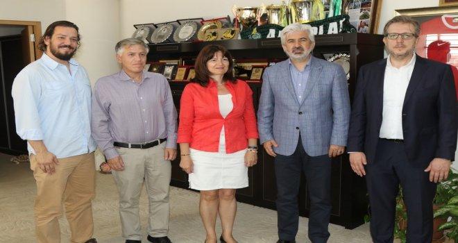 Başkan Hızlı, Yunanistan İzmir Başkonsolosunu konuk etti