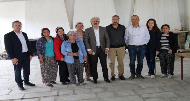 Başkan Salih Hızlı'dan Yatağan ve Zeytinliova Mahallelerine ziyaret