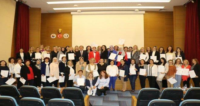 Boğaziçi Üniversitesi Kadın Girişimci Yönetici Okulu Manisa mezunlarını verdi