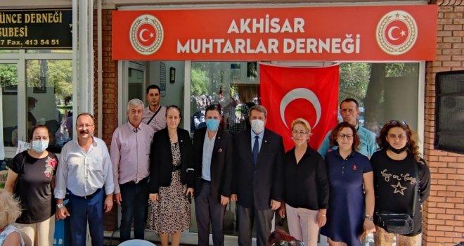Büyükşehir, Akhisar Muhtarlar Derneği Açılışına Katıldı