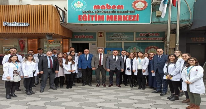 Büyükşehir'den Akhisar MABEM'e Ziyaret