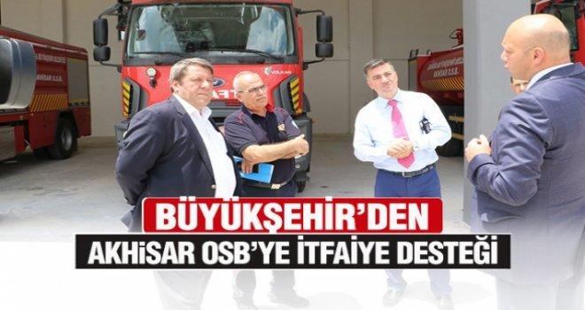 Büyükşehir'den Akhisar OSB'ye itfaiye desteği