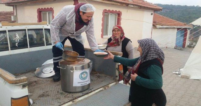 Büyükşehir'in Çorba Yardımı Devam Ediyor