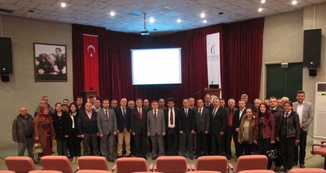 CBÜ Akhisar Yerleşkesi personeline  ''Hizmetiçi Eğitim Seminerleri