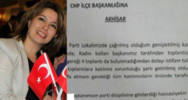 CHP Kadın Kolları Yönetim Kurulu Üyesi Ormanyaran, İstifa Etti