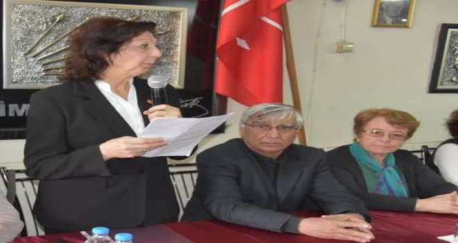 CHP'li Kadınlardan Kınama