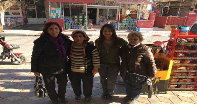 CHP'li kadınların Referandum çalışmaları devam ediyor