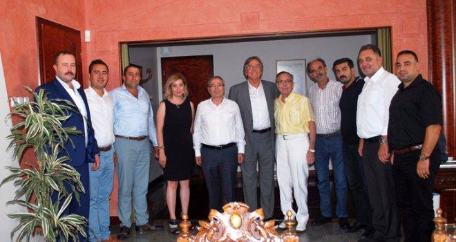 Erol Boşnak'tan Keskinoğlu Şirketler gurubuna ziyaret