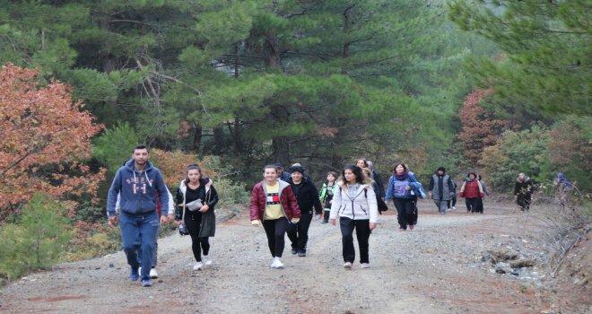 Doğa yürüyüşlerinde bu hafta rota Tahtalı parkuru oldu
