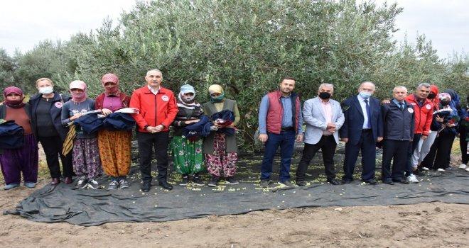 Dünya Kadın Çiftçiler Gününde Anlamlı Ziyaret
