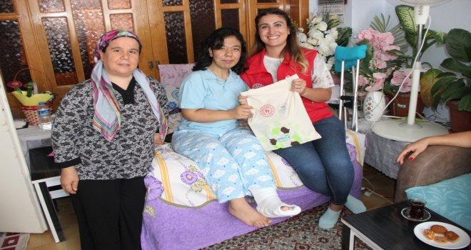 Engelli Genç Yazar Çelik'e İlçe Spor Müdürlüğünden Ziyaret
